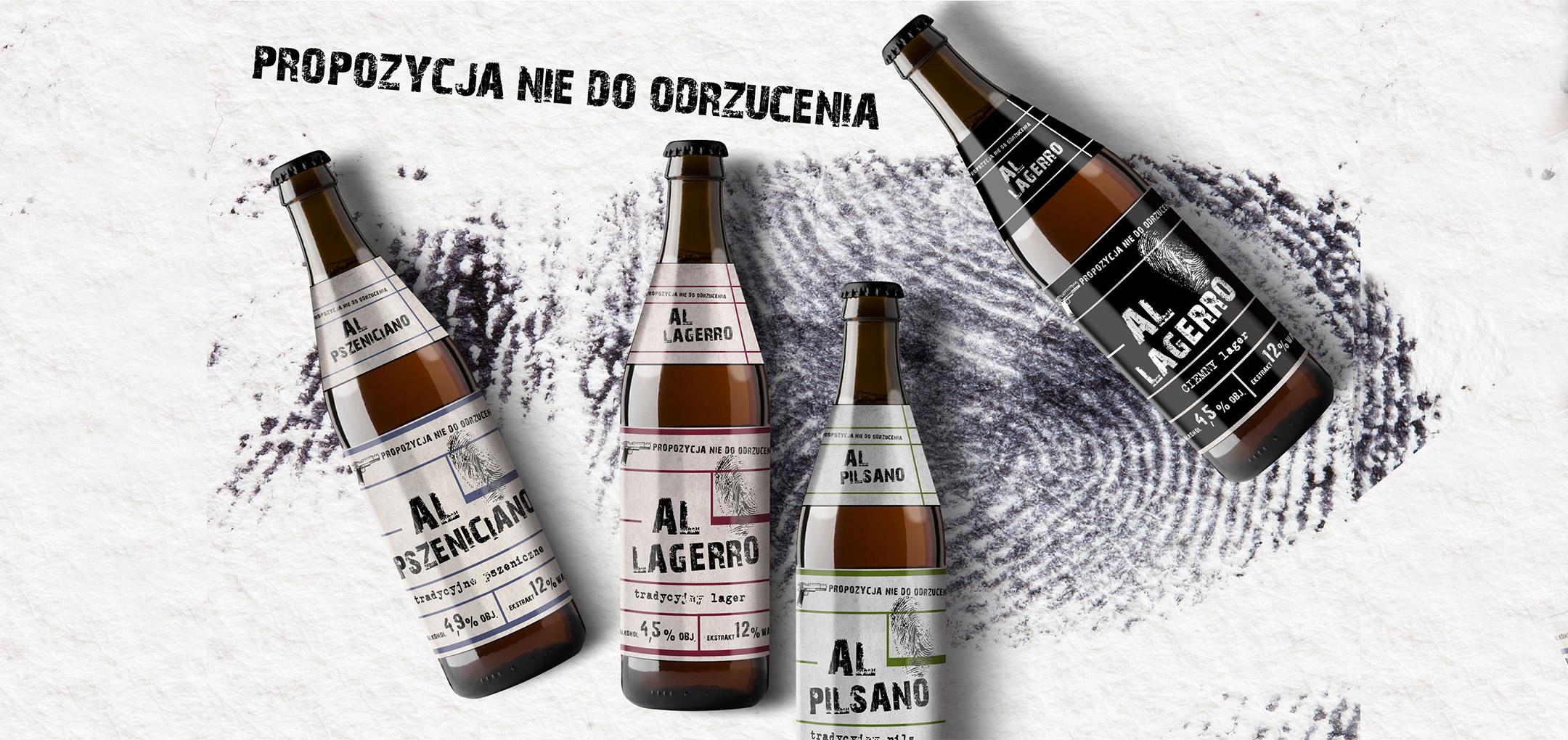 Al Capone – etykiety piwa